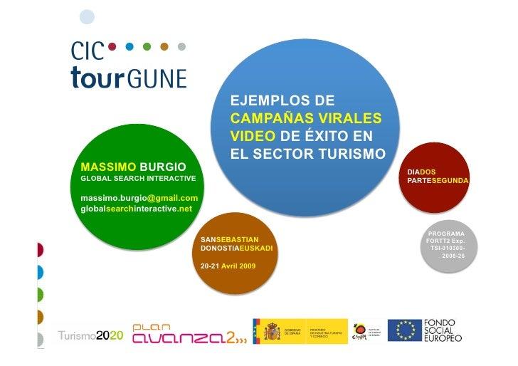 Turismo 2.0: Ejemplos de Campanas Virales en Sector Turismo