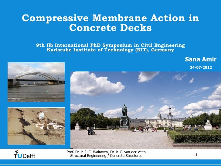 Compressive Membrane Action in Concrete Decks