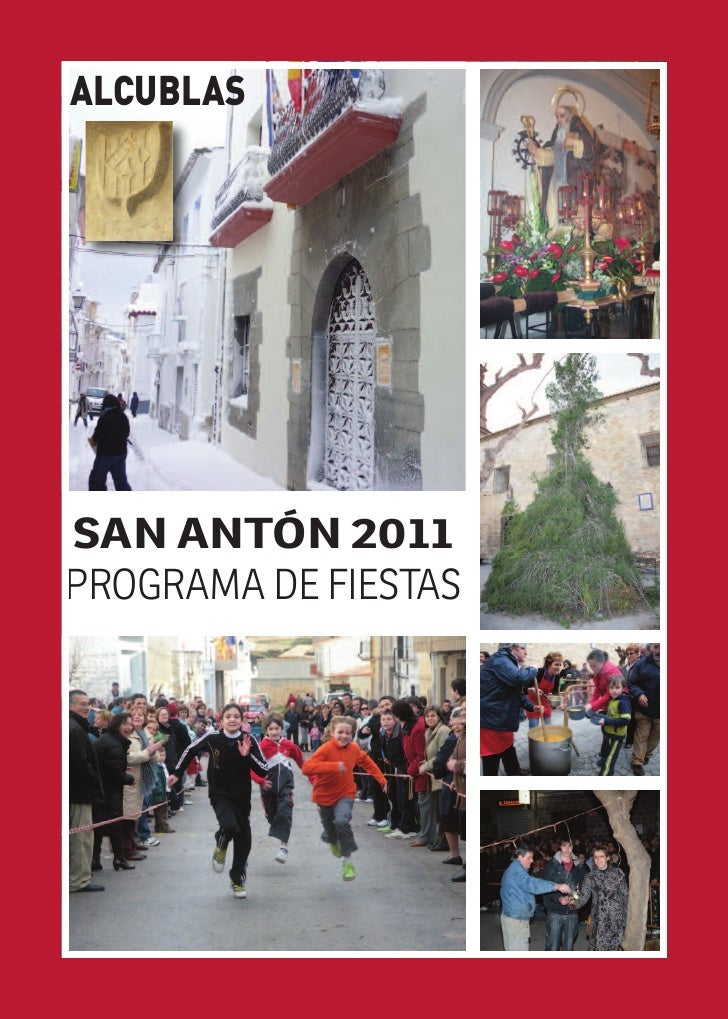 ALCUBLASSAN ANTÓN 2011PROGRAMA DE FIESTAS