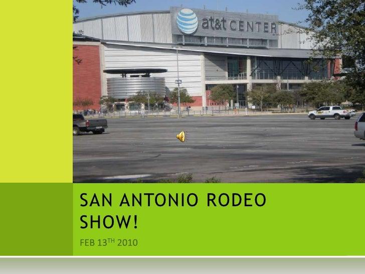 San Antonio Rodeo Show