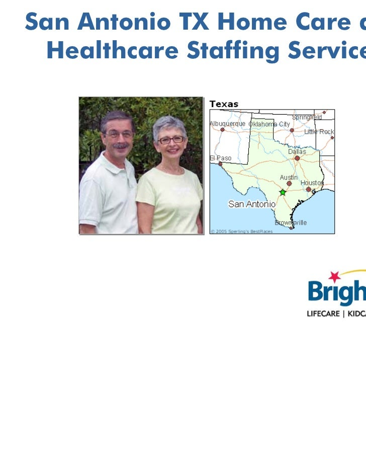 San Antonio TX Home Care and Healthcare Staffing Services
