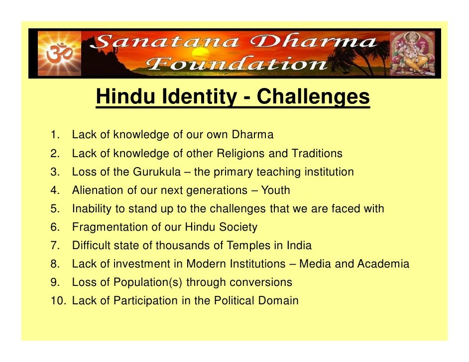 Sanathana Dharma Hindu Identity Compatibility Mode
