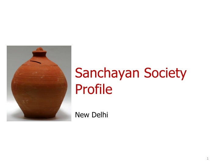 Sanchayan Society Profile New Delhi