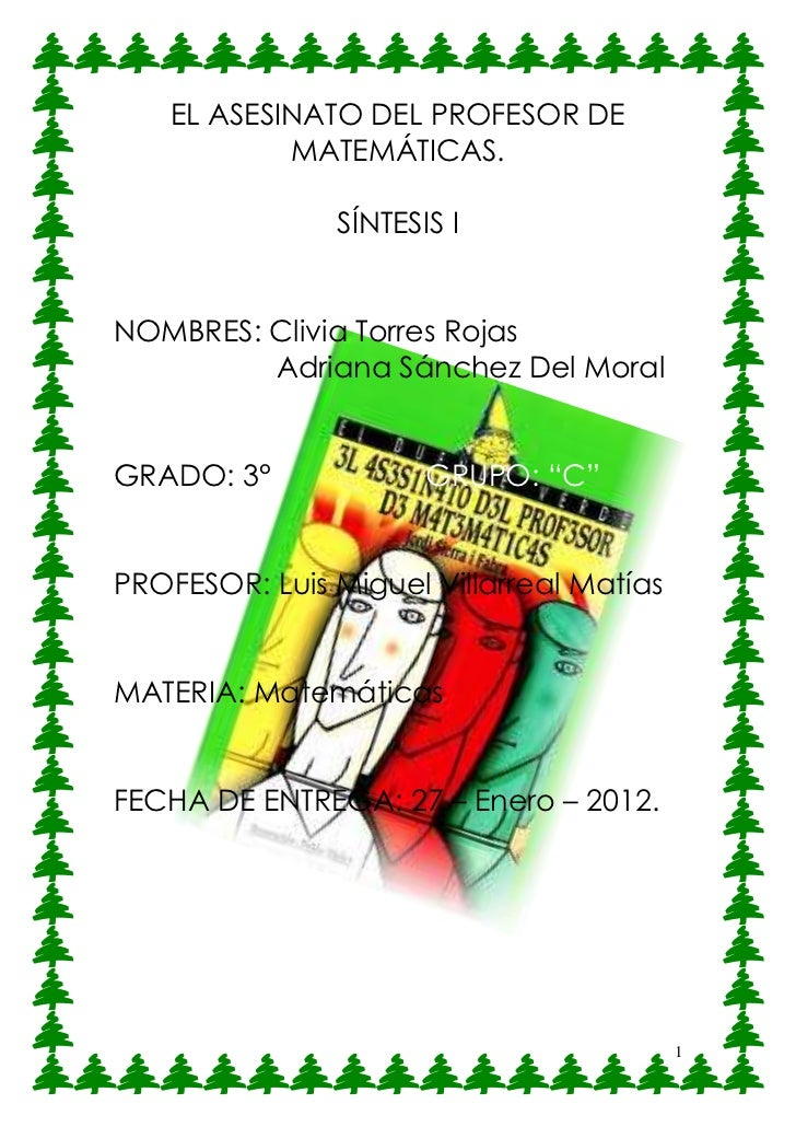 Sanches Del Moral Adriana y Torres Rojas Clivia