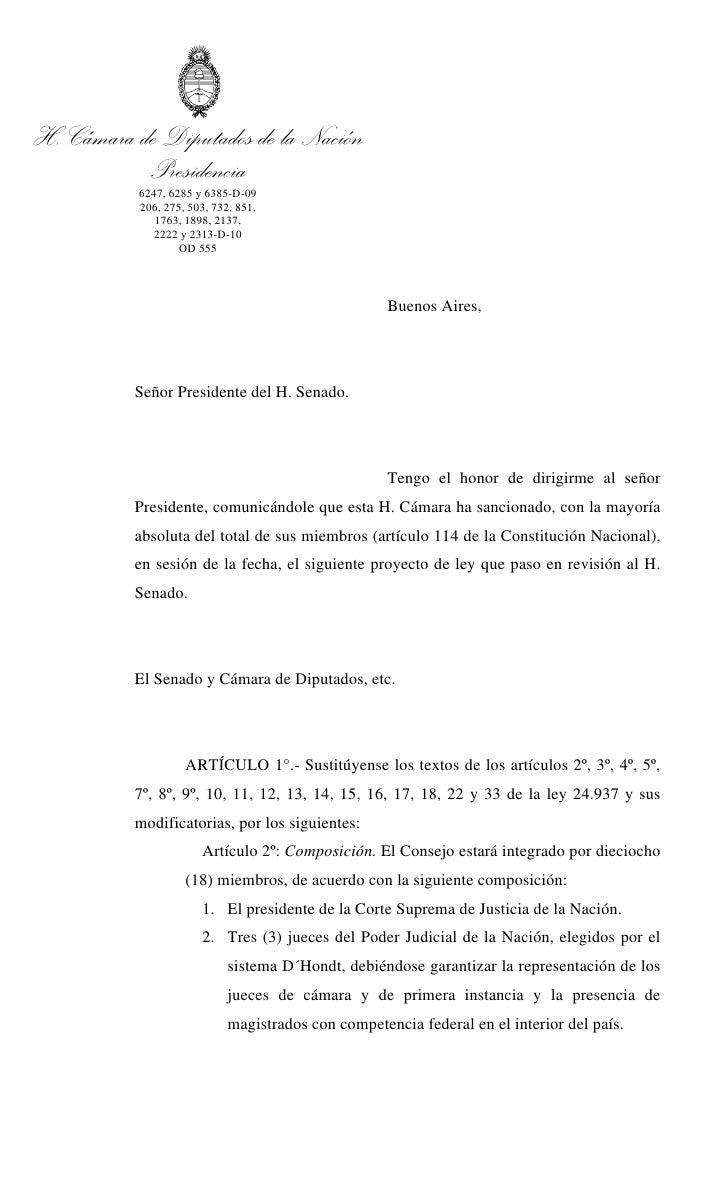 Sanción cons mag.   6247-d-2009