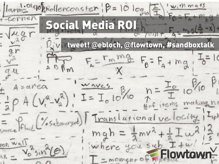 Social Media ROI - Sandbox Suites 6/29/10