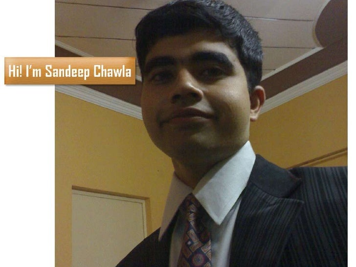 Sandeep Chawla Visual Resume