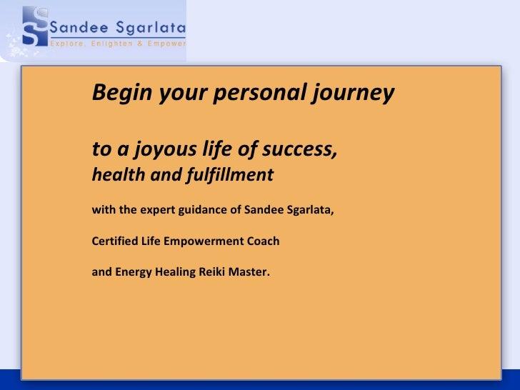 Sandee Sgarlata - Stress Management, Self Improvement & Reiki Attunements