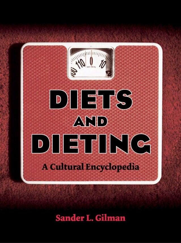 Sander l. gilman encyclopedia of diets and dieting
