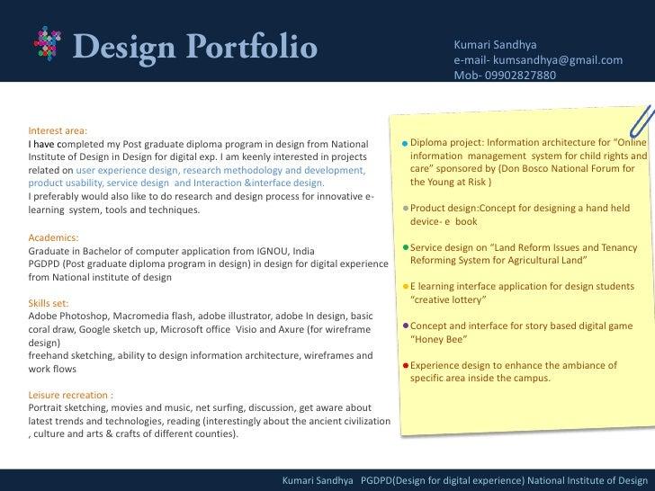 Sandhya's portfolio