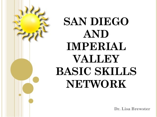 San Diego And Imperial Valley Intro