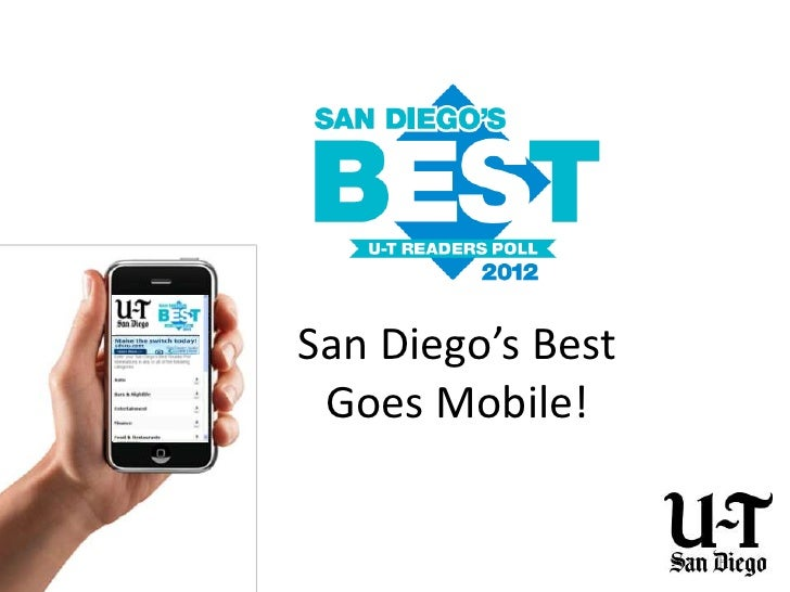 San Diego's Best Goes Mobile!