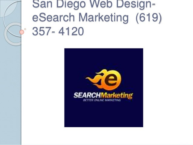 San Diego Web Design- eSearch Marketing (619) 357- 4120