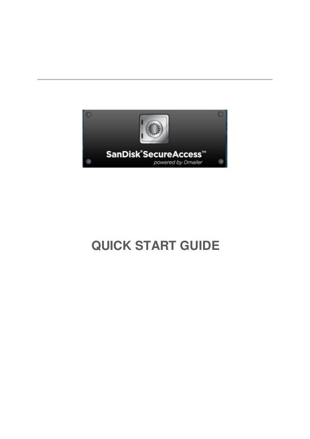 San disksecureaccess quickstartguide_win
