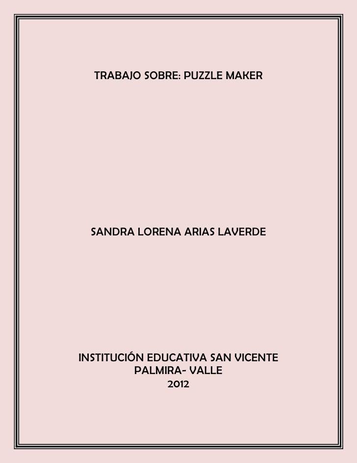 Sandra lorena arias laverde 10 1 4,8
