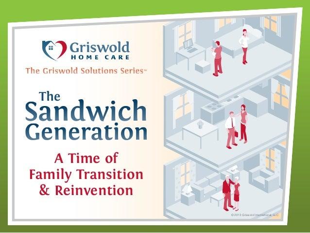 Sandwich Generation Infographic Sandwich Generation