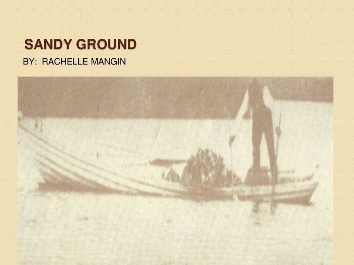 SANDY GROUNDBY: RACHELLE MANGIN