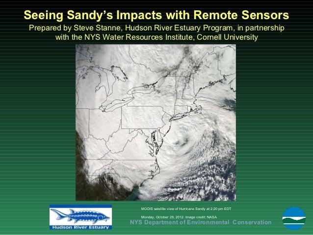 Impacts of Hurricane Sandy