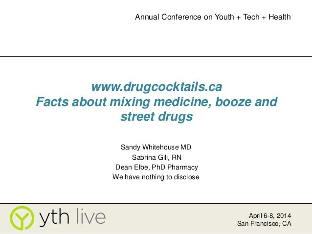 DrugCocktails.ca: A Website for Youth and Health Care Professionals
