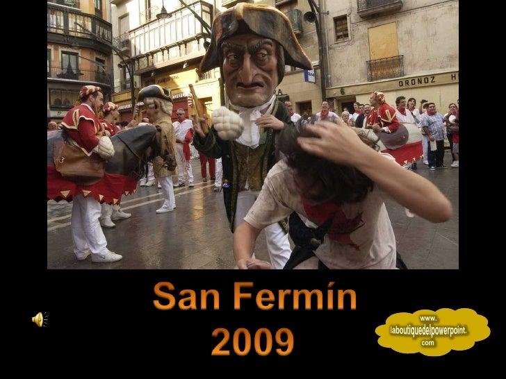 San Fermin 2009