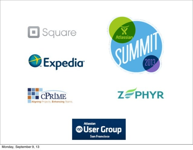 San Francisco User Group Presentations: 28 Aug 2013