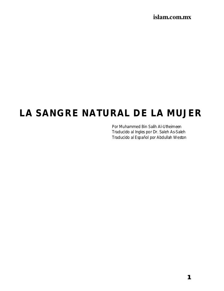 Sangre Natural (Sheikh 'Uthaymin)