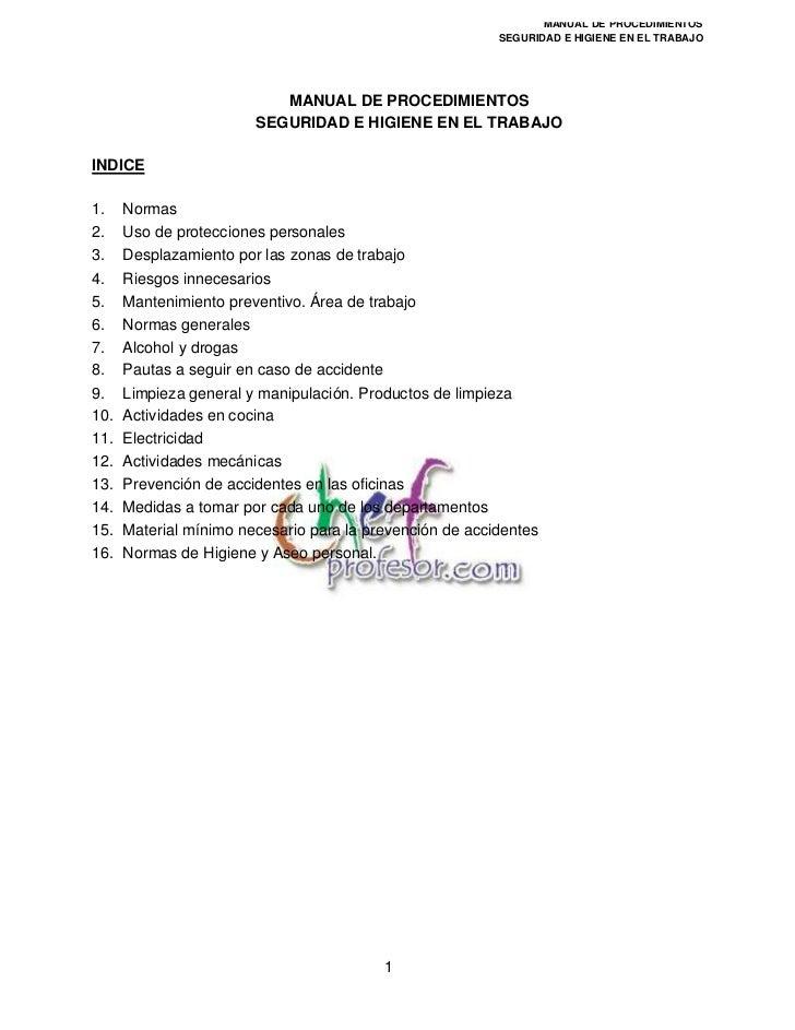 Sanidad manual de_procedimientos