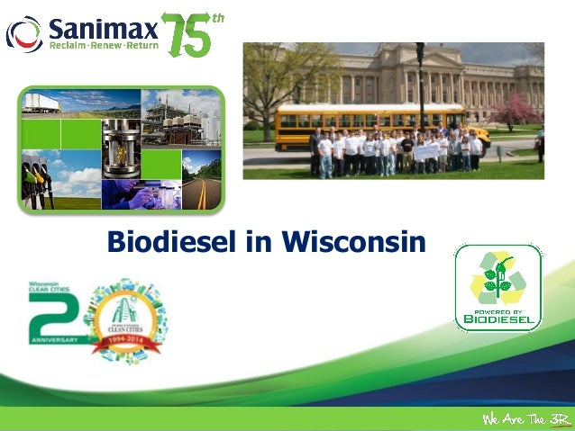 Future of Alternative Fuels in WI Showcase - Sanimax Presentation
