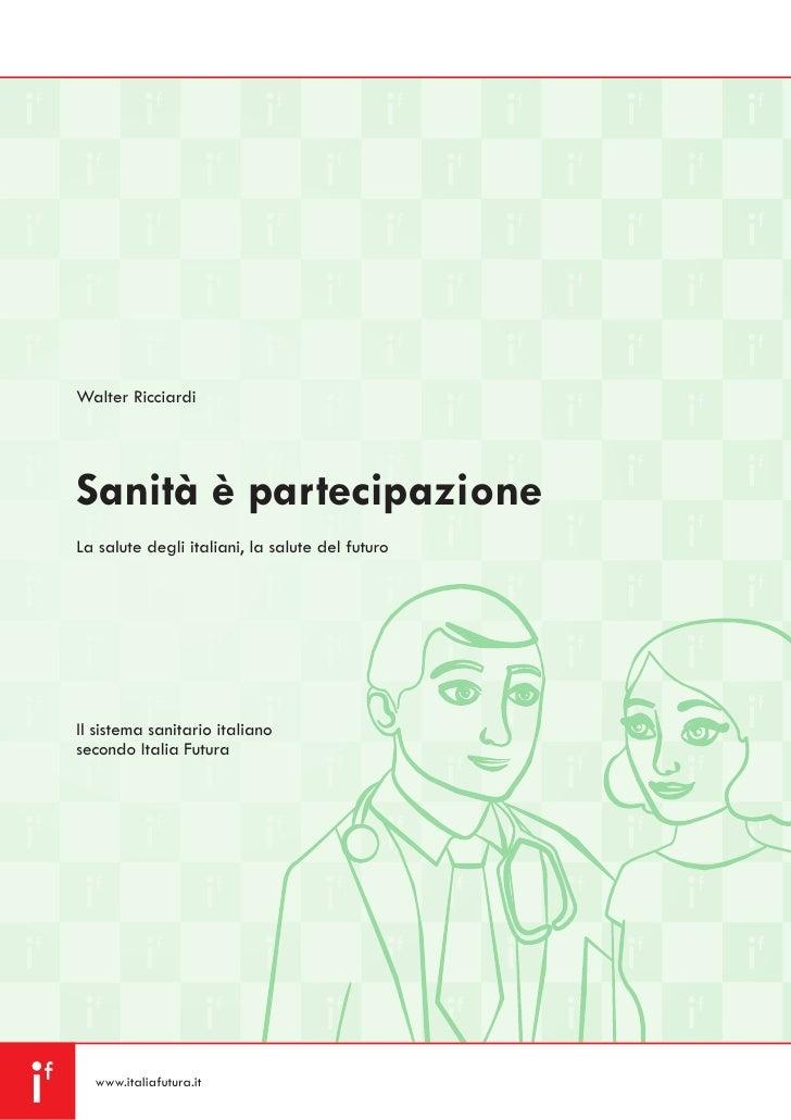 Sanita' e' partecipazione