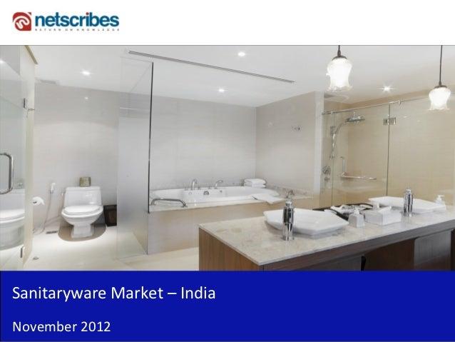 Market Research Report :Sanitaryware market in india 2012