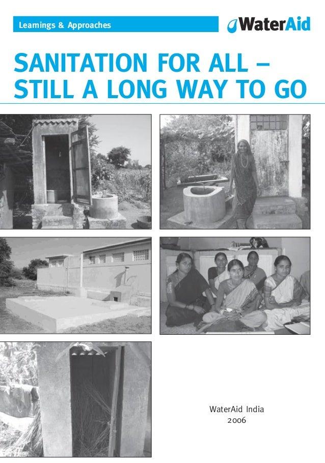 Sanitation for-all