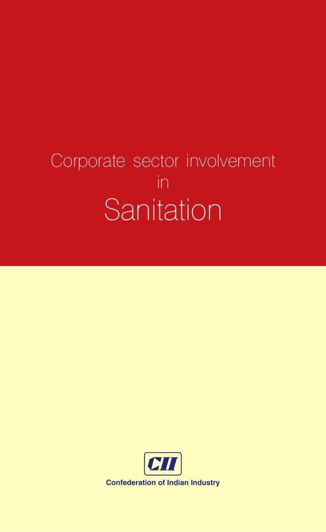 1  Corporate sector involvement in Sanitation
