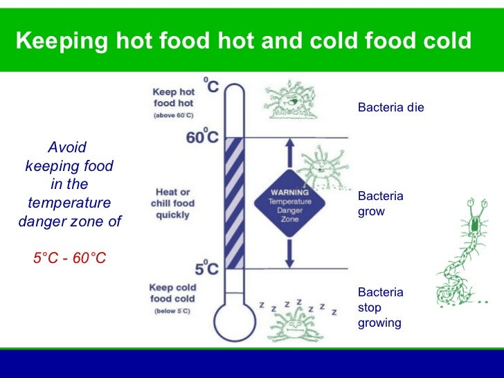 Cold Food Temperature Keeping Hot Food Hot And Cold