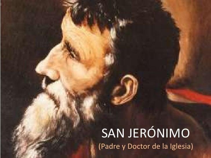 Resultado de imagen para san jeronimo