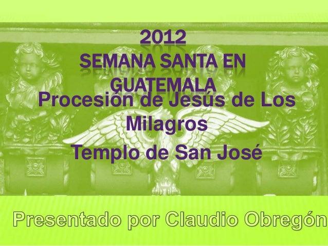 San josé domingo de ramos 2012