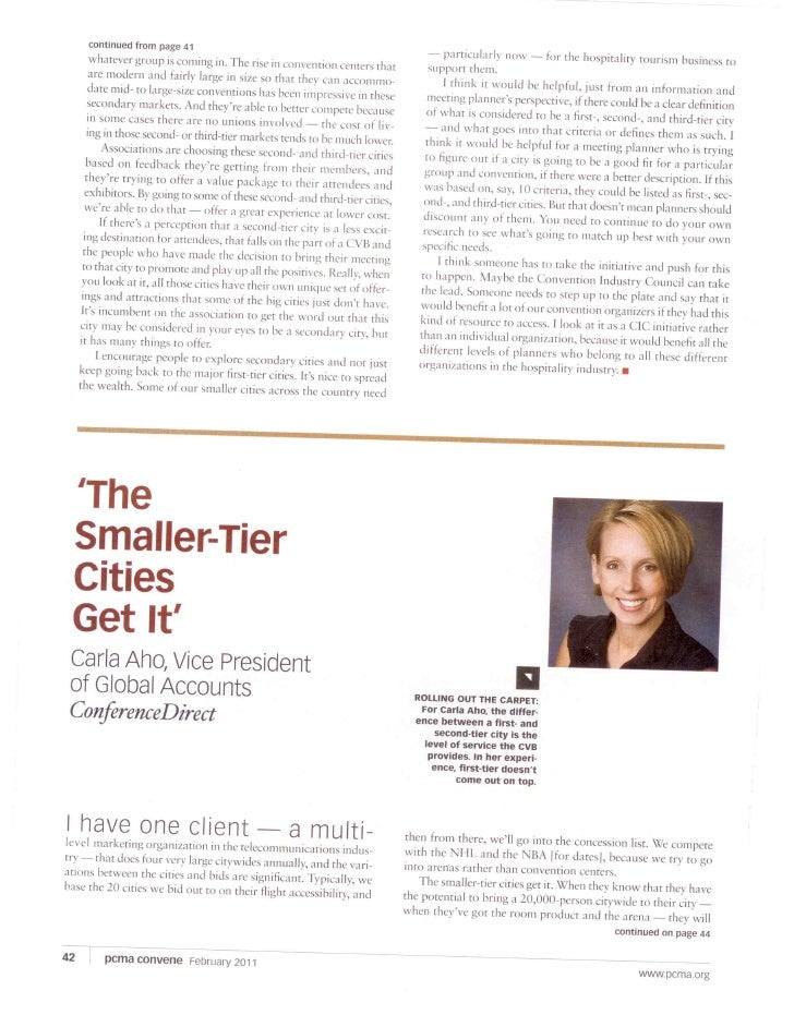 San Jose In Convene Magazine Feb 2011
