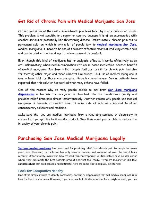San jose marijuana dispensary