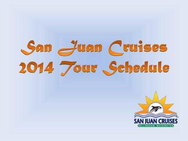 San Juan Cruises in Bellingham, WA, locally owned company, started in 1987 as Gary Line Cruises in Semiahmoo Resort in Bla...
