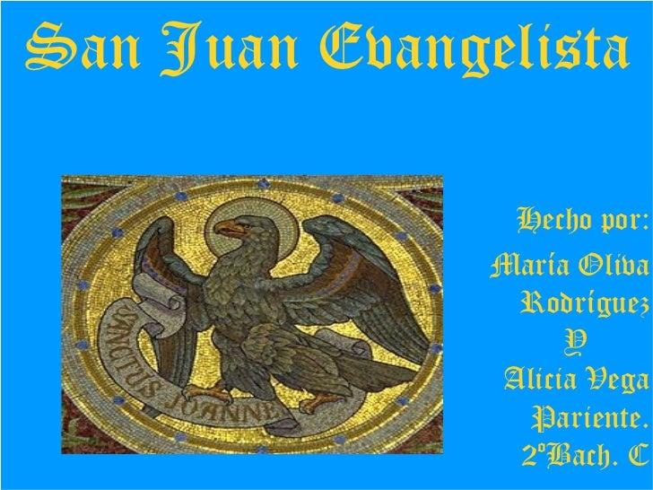 San juan evangelista 2ºbach c