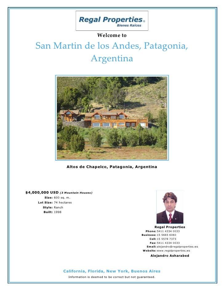 San Martin De Los Andes, Patagonia - Argentina