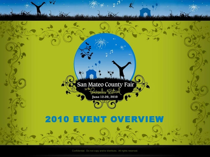 San Mateo County Fair Overview