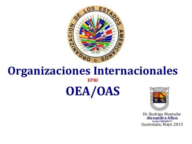 OEA/OAS
