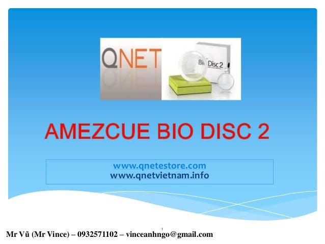 San pham qnet viet nam - amezcue bio disc 2 - IR ID No VN002907