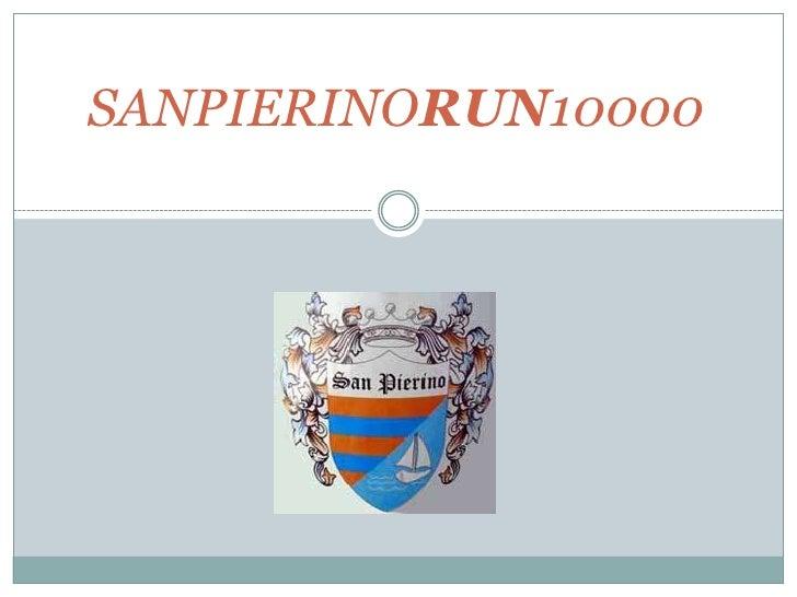 SANPIERINORUN10000<br />