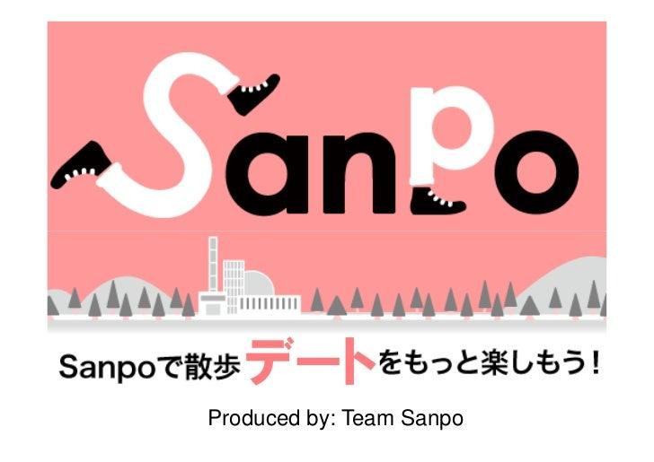 Sanpo Presentation at SVS6 by Team Sanpo