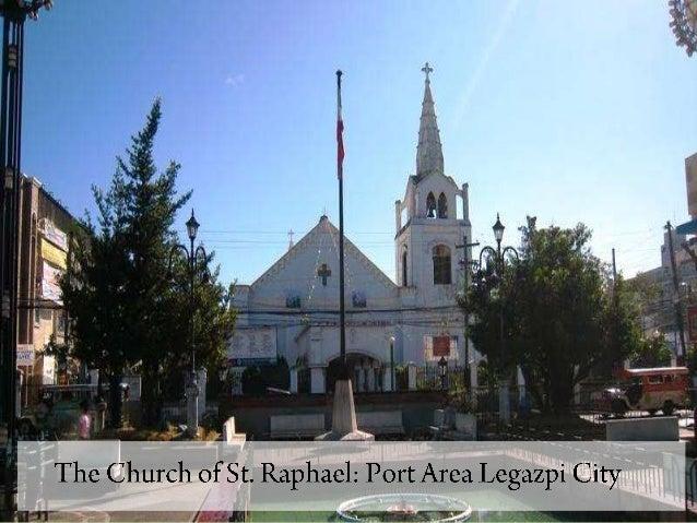 San rafael church legazpi