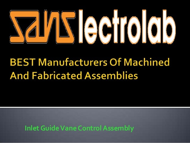 Inlet GuideVane Control Assembly