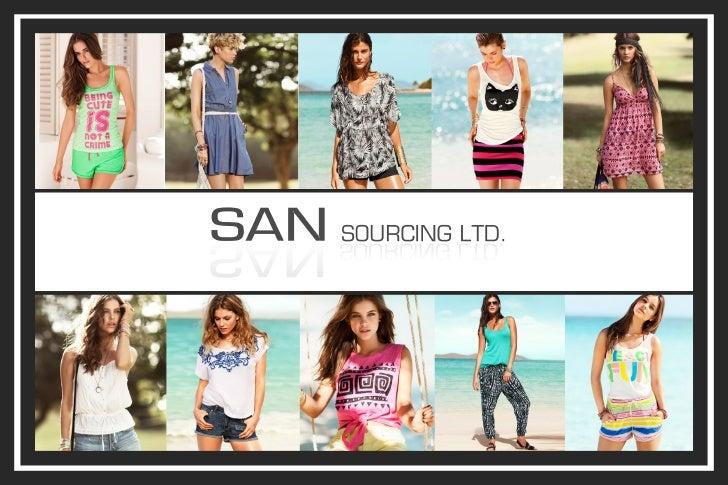 SAN sourcing ss 2013