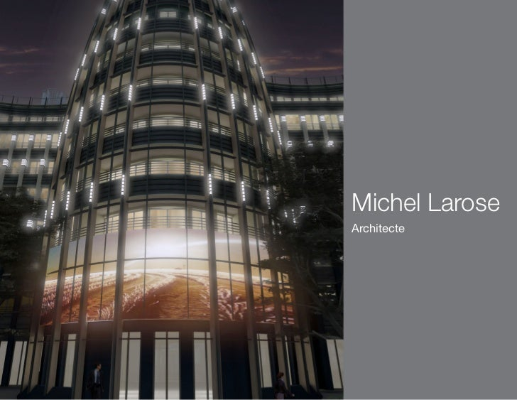 Michel LaroseArchitecte