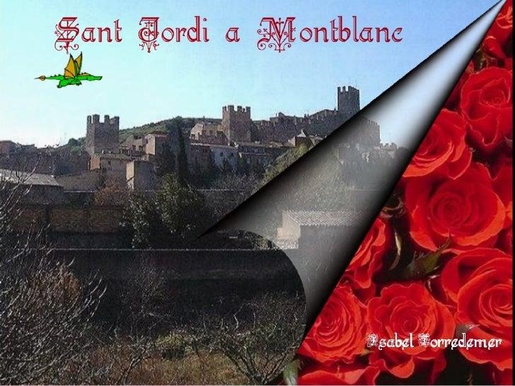 Sant Jordi. Amb so i narració a slideboom.com